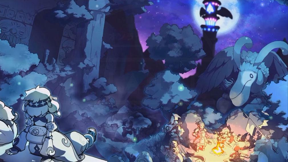 ZUNDA フクロウとよみがえる月 (ズンダ) PC 世界観イメージ