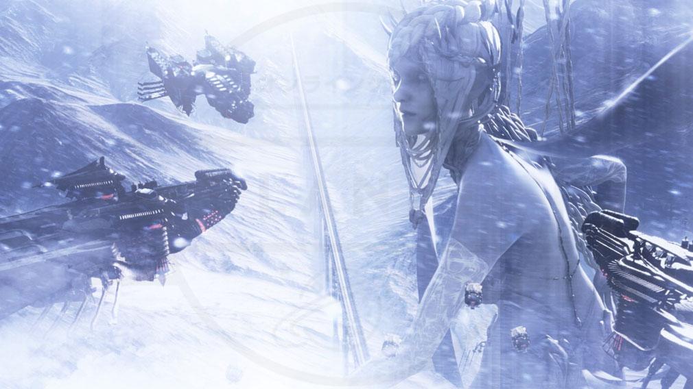 FINAL FANTASY15 (ファイナルファンタジー15)FF15 WINDOWS EDITION PC 『召喚獣』シヴァ召喚スクリーンショット