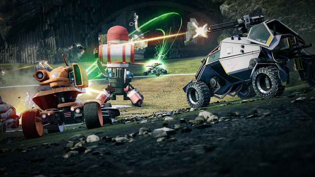 Switchblade(スウィッチブレード) 自分の好きなチームを組んだCoopバトルスクリーンショット