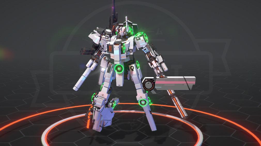 BREAK ARTS 2 (ブレイクアーツ 2) PC 武器搭載カスタマイズスクリーンショット