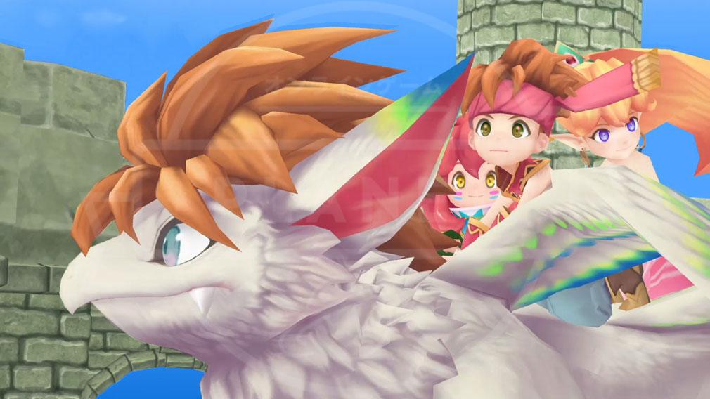 聖剣伝説2 SECRET of MANA(シークレット オブ マナ) PC マナと聖剣を巡る数々のドラマ、仲間との出逢いと別れが描かれた物語スクリーンショット