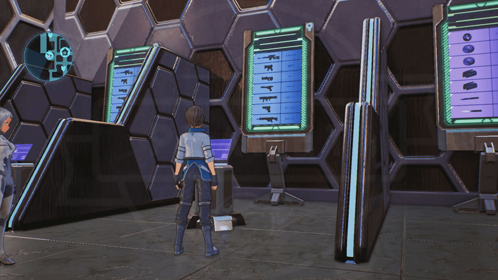 SAOフェイタル・バレット (ソードアート・オンライン) PC 拠点『SBCグロッケン』武器購入スクリーンショット