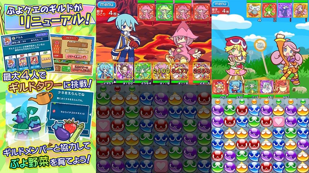ぷよぷよ!!クエスト(ぷよクエ) PC リニューアル情報、ボスバトルスクリーンショット