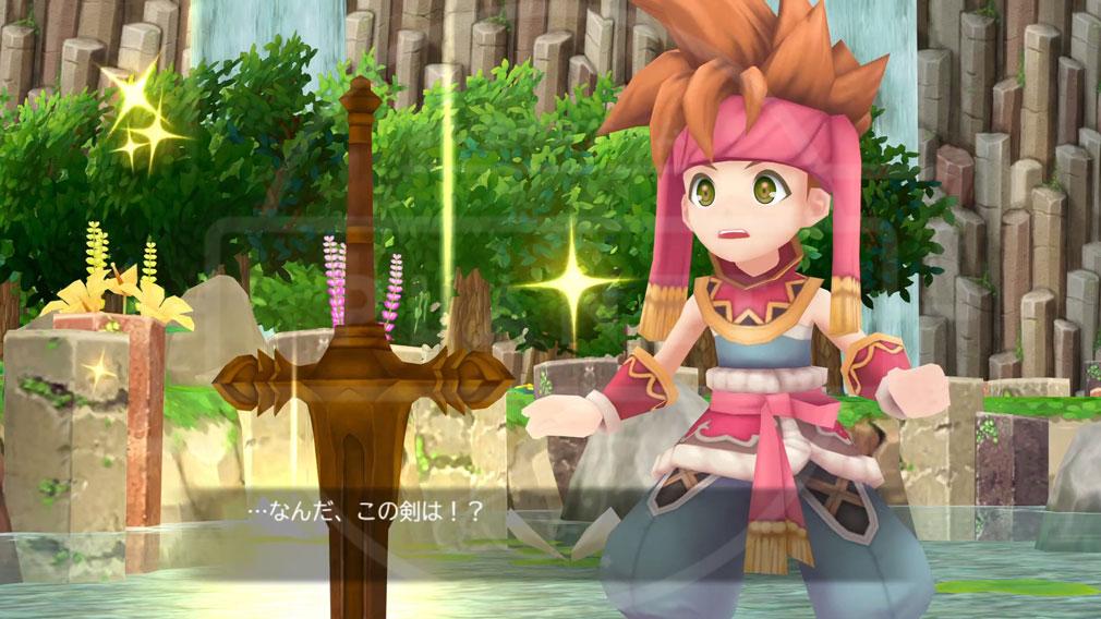 聖剣伝説2 SECRET of MANA(シークレット オブ マナ) PC アニメーションスクリーンショット