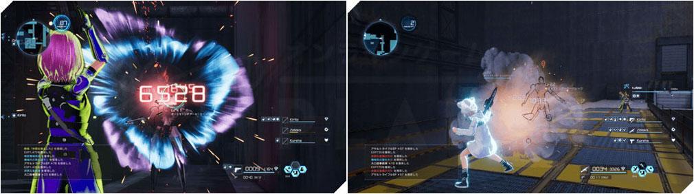 SAOフェイタル・バレット (ソードアート・オンライン) PC 3タイプのスキル紹介スクリーンショット