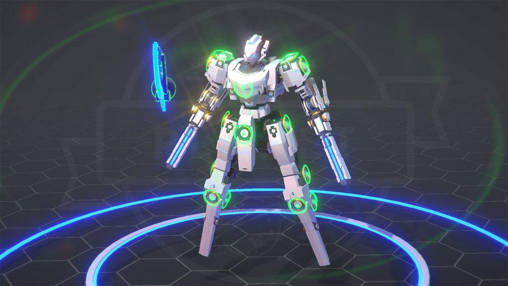 BREAK ARTS 2 (ブレイクアーツ 2) PC ロボット機体カスタマイズスクリーンショット