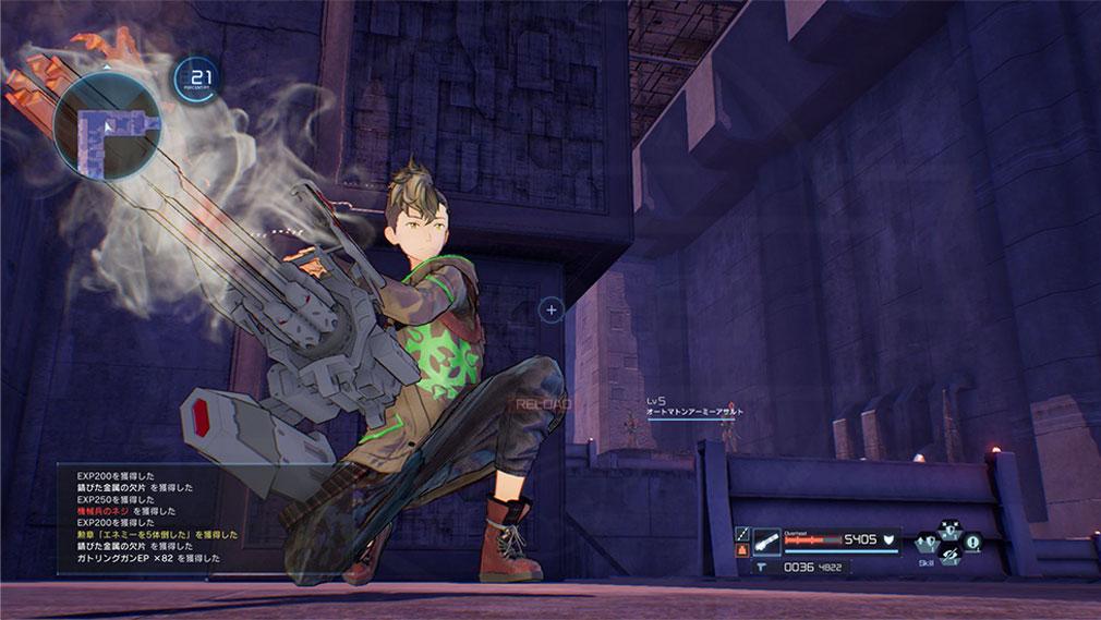 SAOフェイタル・バレット (ソードアート・オンライン) PC 武器『ガトリング』スクリーンショット