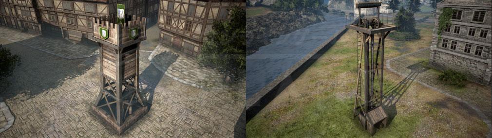 進撃の巨人2 PC 設営できる『前線基地』、『採掘拠点』スクリーンショット