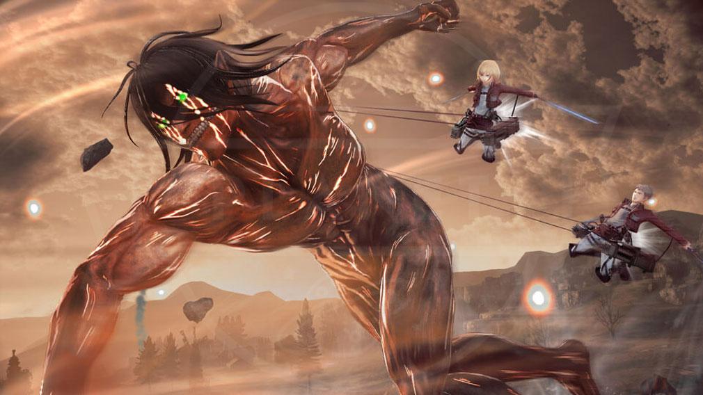 進撃の巨人2 PC 『バディアクション』スクリーンショット