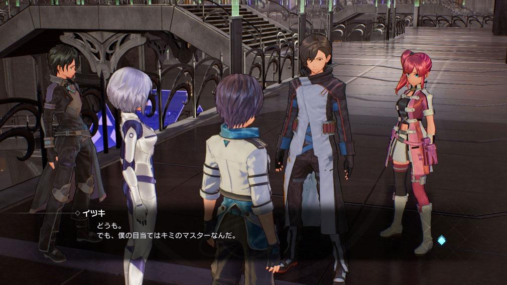 SAOフェイタル・バレット (ソードアート・オンライン) PC メインストーリーを一緒に進行するアファシス(ArFA-sys)の物語パートスクリーンショット