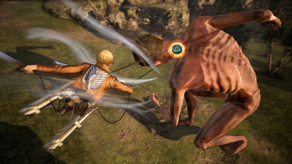 進撃の巨人2 PC 『フックドライヴ』アクションスクリーンショット