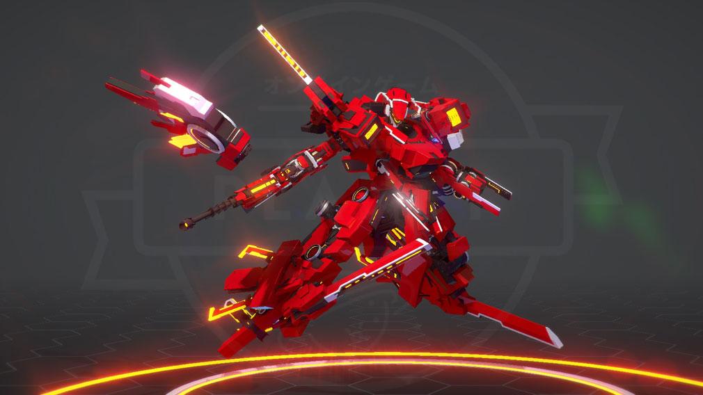 BREAK ARTS 2 (ブレイクアーツ 2) PC 人型ロボットカスタマイズスクリーンショット