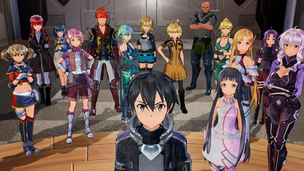 『ソードアート・オンライン(SAO)』より登場するキャラクタースクリーンショット