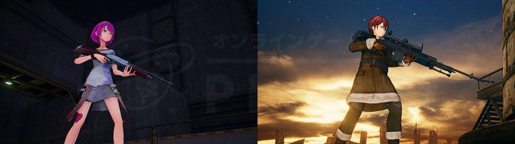 SAOフェイタル・バレット (ソードアート・オンライン) PC アバタークリエイトスクリーンショット