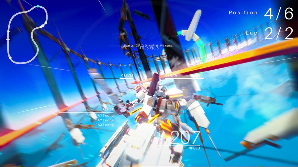 BREAK ARTS 2 (ブレイクアーツ 2) PC 激しいレーシングバトルスクリーンショット