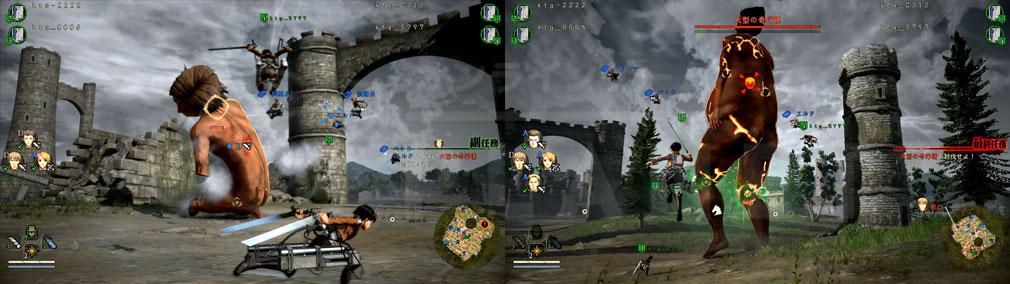 進撃の巨人2 PC 4人で協力プレイできる『調査任務』スクリーンショット