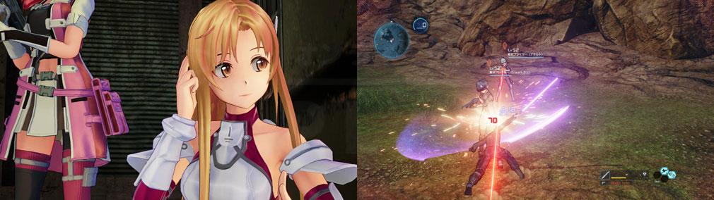 SAOフェイタル・バレット (ソードアート・オンライン) PC 『アスナ』、フィールドバトルスクリーンショット