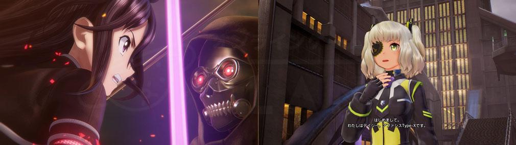 SAOフェイタル・バレット (ソードアート・オンライン) PC 『キリトモード』、オリジナルキャラクタースクリーンショット