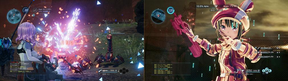 SAOフェイタル・バレット (ソードアート・オンライン) PC オンライン対戦、『GGO』キャラクター『レン』スクリーンショット