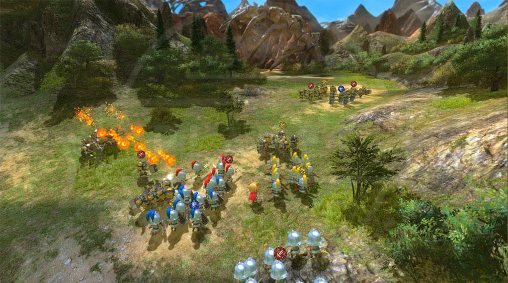 二ノ国2 レヴァナントキングダム PC 『進軍バトル』スクリーンショット