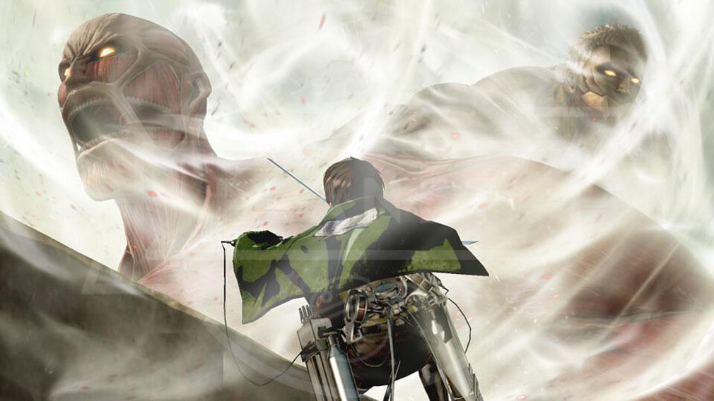 進撃の巨人2 PC 大型巨人、鎧の巨人登場のスクリーンショット