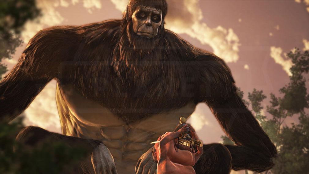 進撃の巨人2 PC 獣の巨人も登場する物語パートスクリーンショット