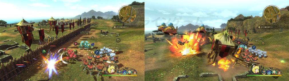 二ノ国2 レヴァナントキングダム PC それぞれが異なる『戦術』を所持しているスクリーンショット