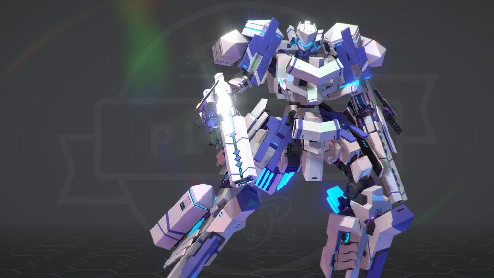 BREAK ARTS 2 (ブレイクアーツ 2) PC 人型ロボット立ち姿スクリーンショット