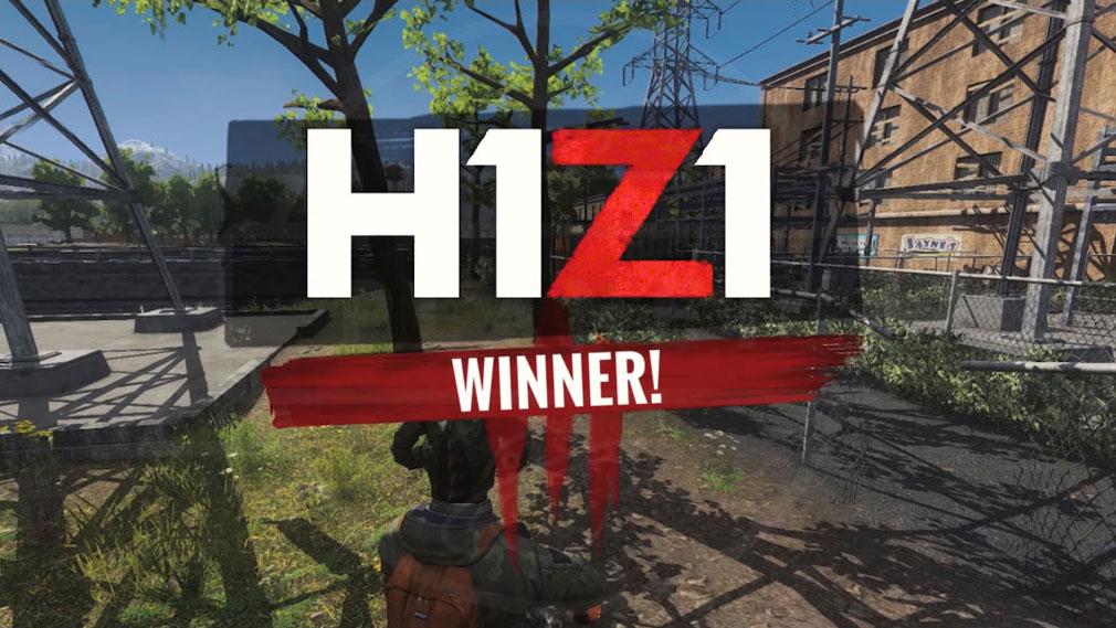 H1Z1 バトル勝利スクリーンショット