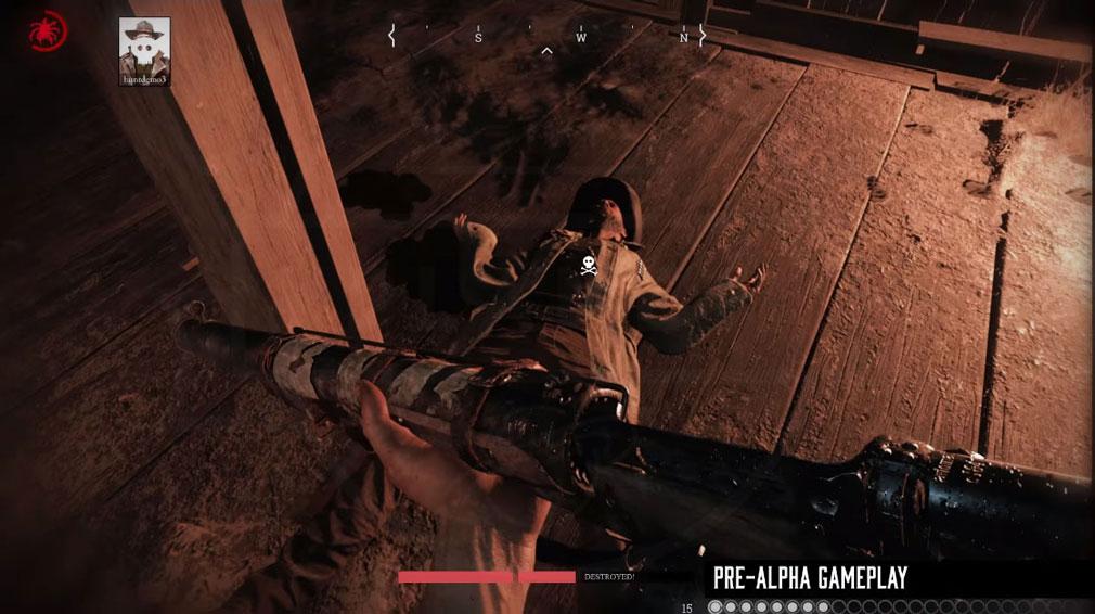 Hunt Showdown(ハントショーダウン) プレイしていたハンターが死亡したので蘇生中のスクリーンショット