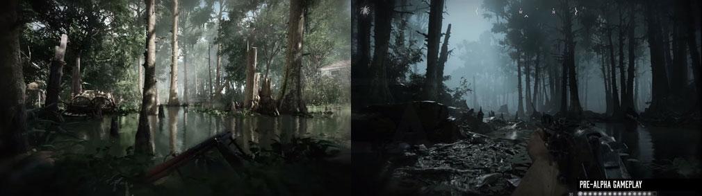 Hunt Showdown(ハントショーダウン) ルイジアナ州の湿地帯世界観スクリーンショット
