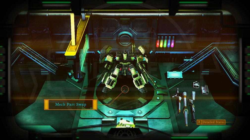 ダマスカスギヤ 西京EXODUS HD Edition PC 【整備】カラーカスタマイズスクリーンショット