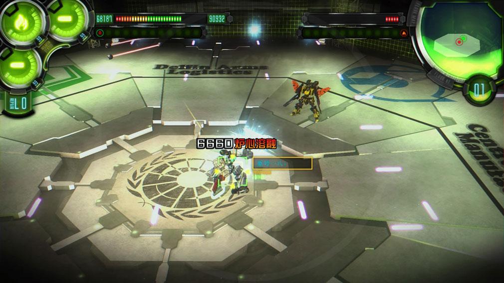 ダマスカスギヤ 西京EXODUS HD Edition PC 【闘機】バトルスクリーンショット