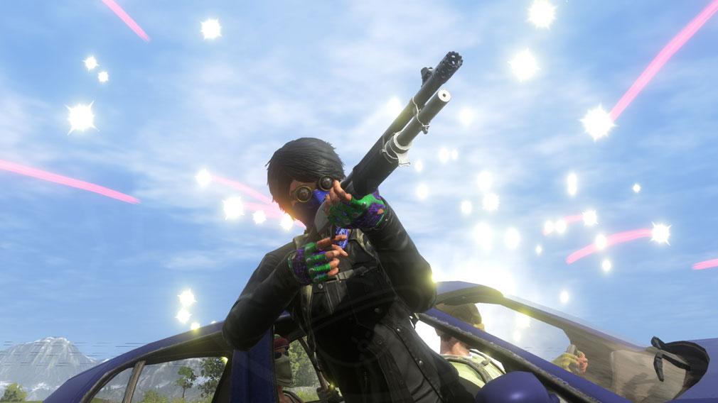 H1Z1 武器発砲スクリーンショット