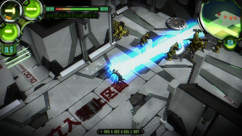 ダマスカスギヤ 西京EXODUS HD Edition PC バトルスクリーンショット