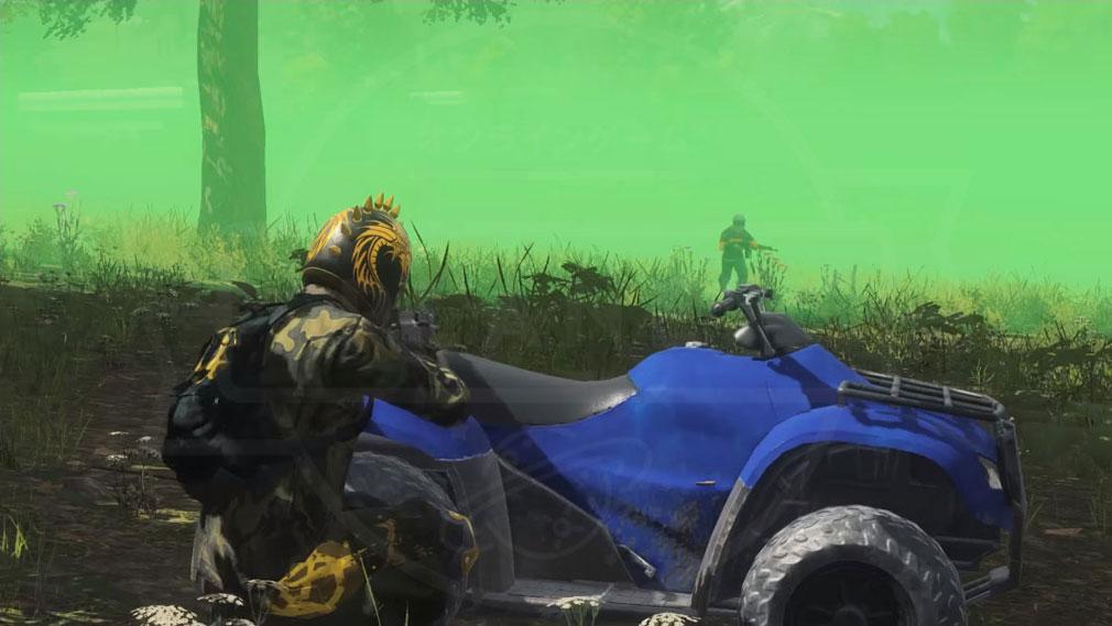 H1Z1 逃げてくるプレイヤーを狙ってくるプレイヤーのスクリーンショット