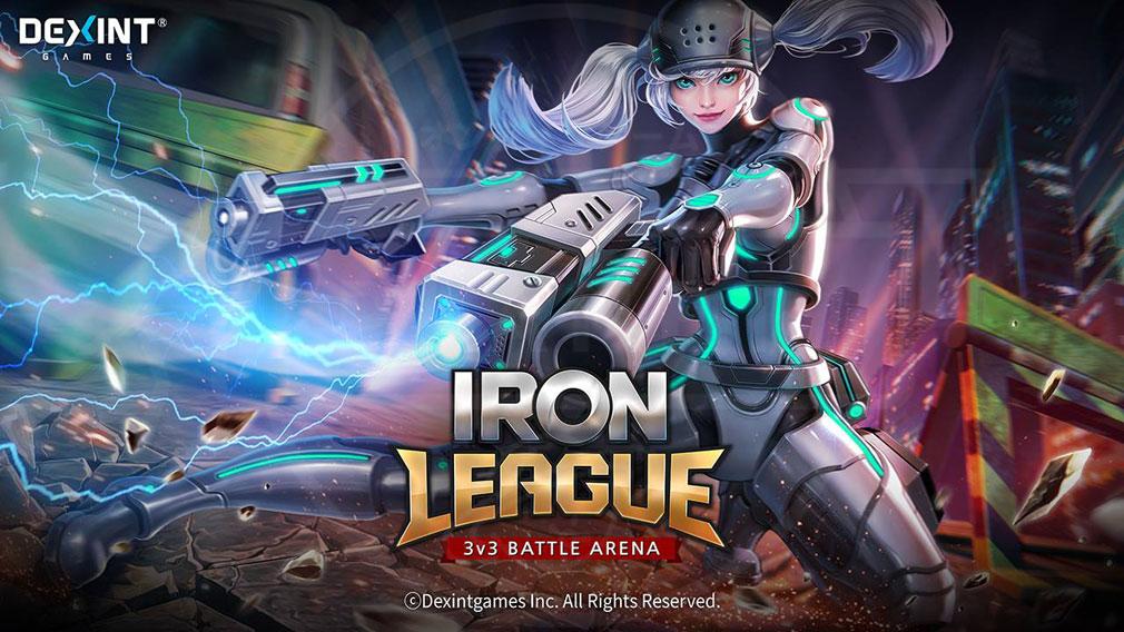 アイアンリーグ(IRON LEAGUE) PC メインイメージ