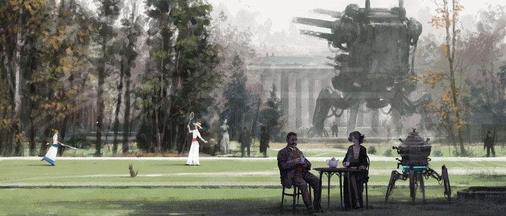 Iron Harvest PC サクソニー帝国(Saxony Empire)街イメージ