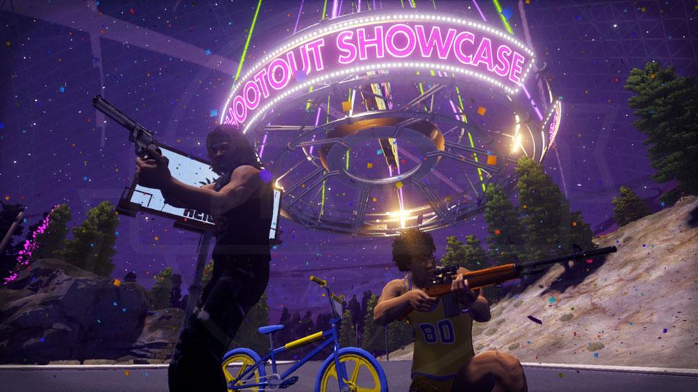 Radical Heights(ラディカル ハイツ) Shootout Showcase(シュートアウトショーケース)スクリーンショット