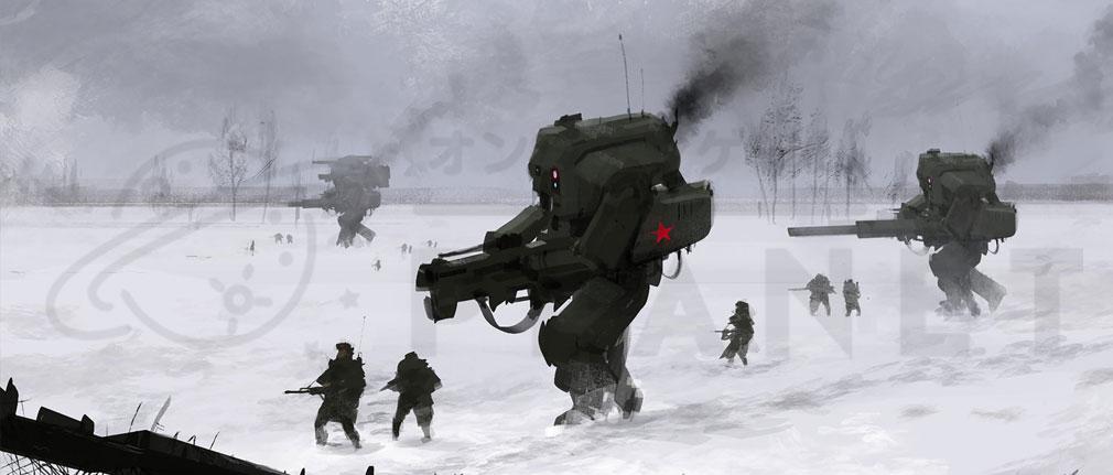 Iron Harvest PC ロスビエト連邦(Rusviet)街イメージ