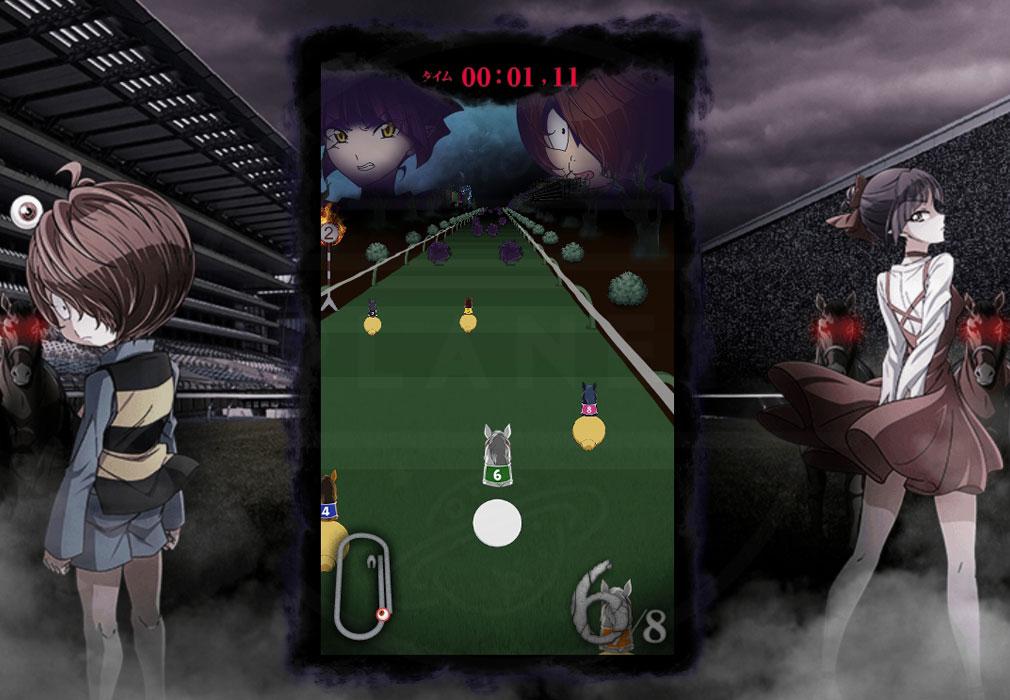 ゲゲゲのケイバ PC 『ゲゲゲの大競走』レーススクリーンショット