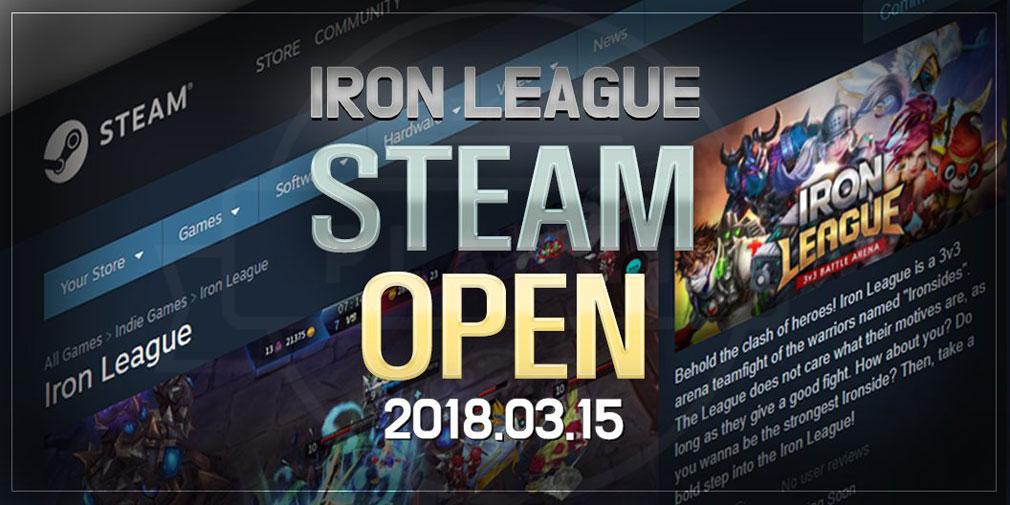 アイアンリーグ(IRON LEAGUE) PC STEAM配信の告知イメージ