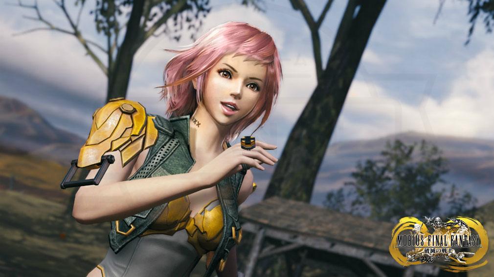 メビウスFF 破滅の戦士 PC(メビウス2) 新主人公『ソフィ』ゲーム内スクリーンショット