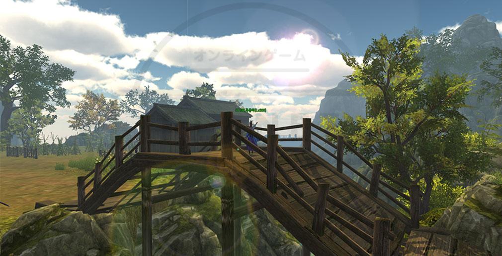 武術オンライン ゲーム内グラフィックススクリーンショット