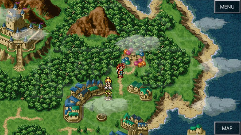 クロノトリガー PC フィールドプレイスクリーンショット