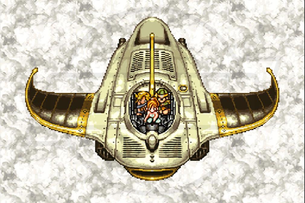 クロノトリガー PC 飛行スクリーンショット