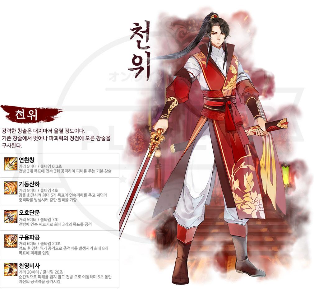 武術オンライン 剣士イメージ