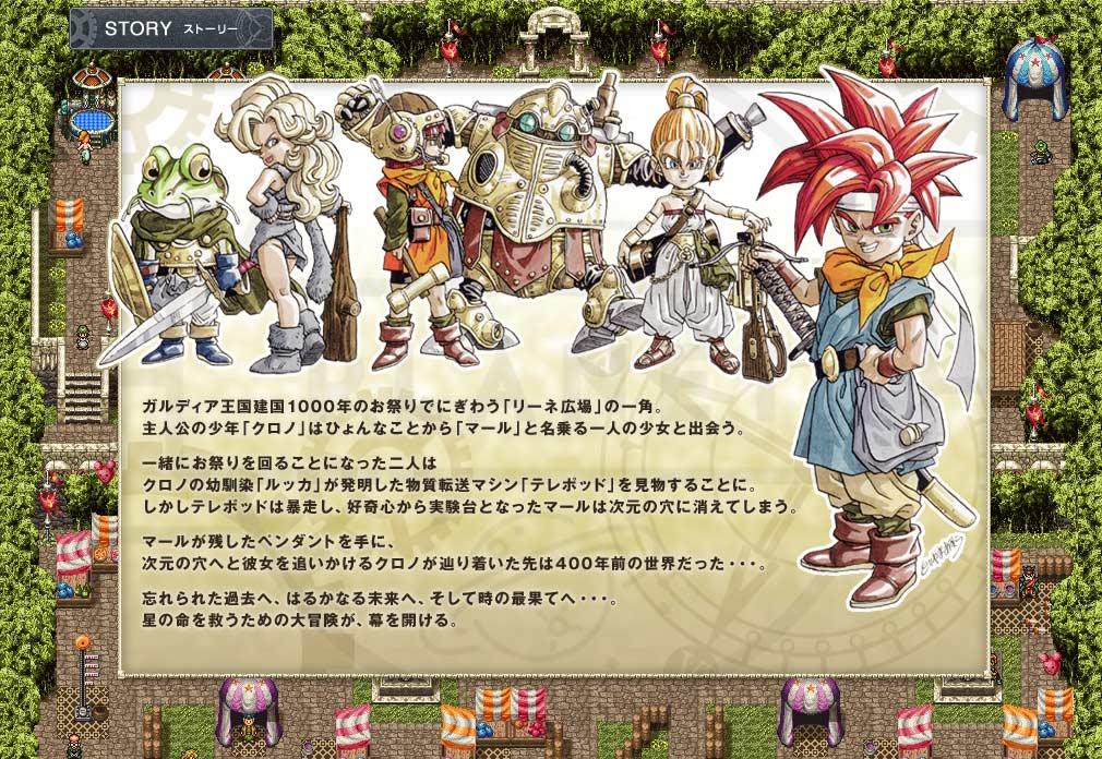 クロノトリガー PC 物語イメージ