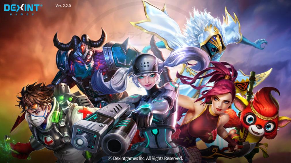 アイアンリーグ(IRON LEAGUE) PC キービジュアルのゲーム開始画面スクリーンショット