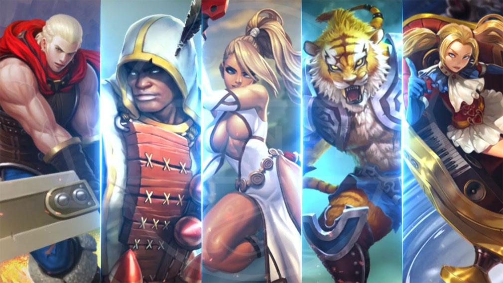 アイアンリーグ(IRON LEAGUE) PC それぞれの背景ストーリーが設定されているキャラクター